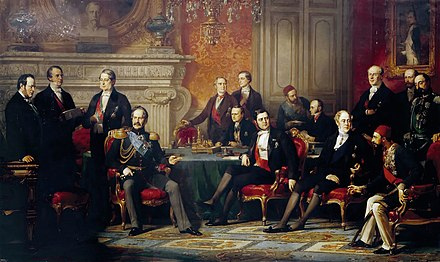 Treaty of Paris (1856) Edouard Dubufe Congres de Paris.jpg