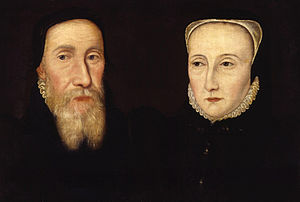 Edwin Sandys (bishop) - Edwin Sandys and his second wife, Cicely, sister of James Wilford