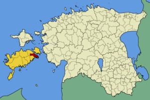 Pöide Parish - Image: Eesti poide vald