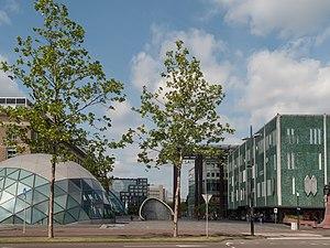 Eindhoven, straatzicht 18 Septemberplein-Vestdijk-Stationsplein foto3 2014-05-04 10.35