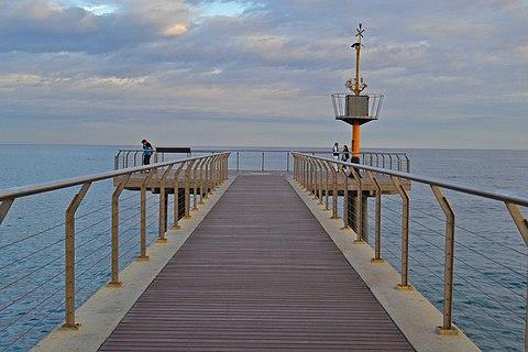 El Pont del petroli Badalona