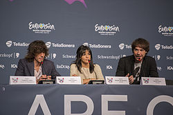 El Sueño de Morfeo, ESC2013 press conference 03.jpg