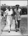 Eleanor Roosevelt and Eisenhower in Hyde Park, New York - NARA - 195350.tif