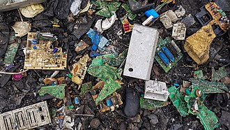 Electronic waste - Electronic waste at Agbogbloshie, Ghana