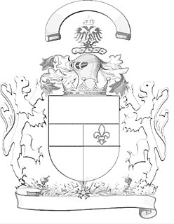 the symbol of power as part of Heraldry