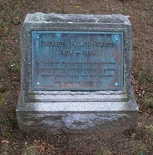 Elizabeth Peabody - Grave of Elizabeth Palmer Peabody