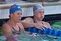 Elizabeth Beisel & Caitlyn Leverenz at end of 200 IM (8991572380).jpg