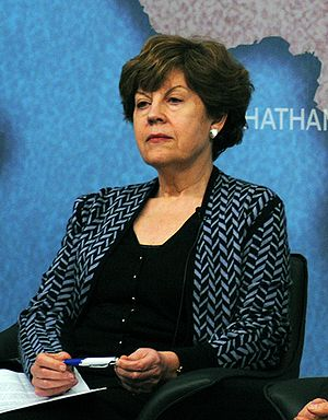Elizabeth Wilmshurst - Elizabeth Wilmshurst at Chatham House in 2013