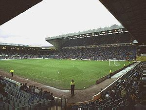 West Yorkshire derby - Elland Road – home of Leeds United.