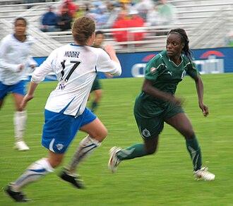 Eniola Aluko - Eniola Aluko against the Boston Breakers