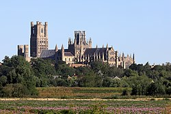 Ely Cathedral from the southeast