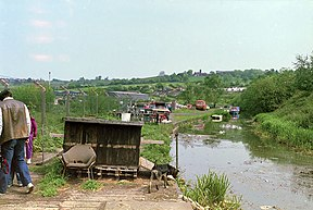 End of truncated Dudley Canal, 1987 - geograph.org.uk - 1652530.jpg