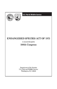 endangered species act of  endangered species act pdf