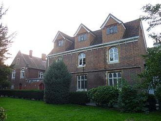 Enfield Grammar School - The old Enfield Grammar School building.