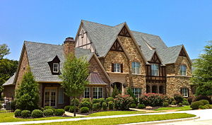 Southlake, Texas - English Tudor mansion