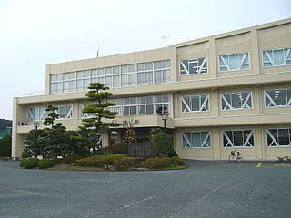 Mori, Shizuoka Town in Japan