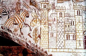 Kingdom of Valencia - The King James I entered the city of Valencia on 9 October 1238
