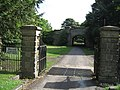 Entrance Gates to Croxdale Estate - geograph.org.uk - 1389720.jpg