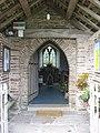 Entrance porch of St. Margarets church - geograph.org.uk - 1203195.jpg