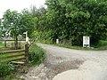 Entrance to Black Dog Nursery - geograph.org.uk - 812827.jpg