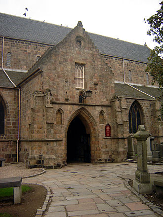 St Machar's Cathedral - The cathedral entrance