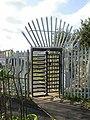 Entrance turnstile, Orb, Corporation Road, Newport - geograph.org.uk - 1575853.jpg