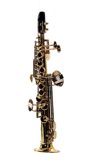 Sopranissimo saxophone - Image: Eppelsheim Soprillo Saxophone 2000s