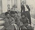 Erich Zugmayer and three Uzbeks, 1904.jpg
