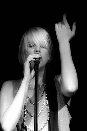 Erika M. Anderson - EMA performing at the Berghain in Berlin on May 5, 2011