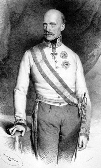 Provisorische Zentralgewalt - Archduke Johann of Austria (1848)