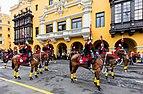 Escolta presidencial, Plaza de Armas, Lima, Perú, 2015-07-28, DD 24.JPG