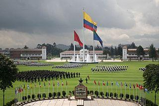 Resultado de imagen para Fotos de la Escuela Militar de Cadetes General José María Córdova