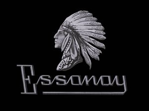 Essanay Studios - Essanay Film Manufacturing Company logo in still frame from a Charlie Chaplin film