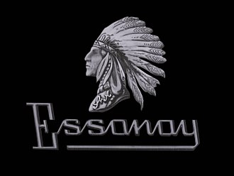 Essanay Studios - Essanay Film Manufacturing Company logo in a still frame from a Charlie Chaplin film