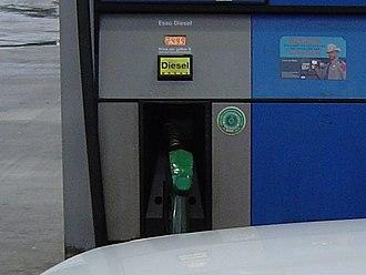 Diesel fuel - A modern diesel dispenser