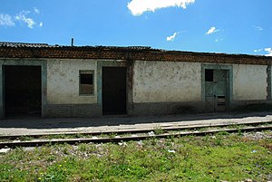 Ventaquemada - Image: Estación del Ferrocarril Ventaquemada I (abandonada)