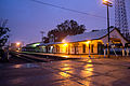Estacion de Tren Leon Guanajuato al amanecer.jpg