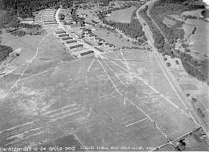 Ethan Allen Army Airfield - Image: Ethan Allen Army Airfield Vermont 12 Aug 1924