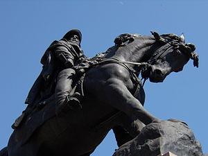 Ettore Ferrari - Monument to Giuseppe Garibaldi Rovigo