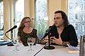 European Voices A Reading & Conversation with Christos Ikonomou and Karen Emmerich (26293120430).jpg