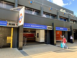 Euston Underground Station 2020 entrance.jpg
