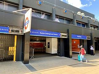 Euston tube station London Underground station