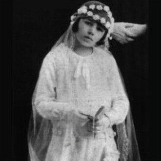 Eva Perón - Eva Duarte at her First Holy Communion, 1926