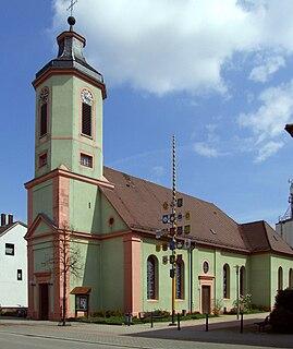 Altlußheim Place in Baden-Württemberg, Germany