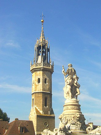 Eure - Image: Evreux beffroi