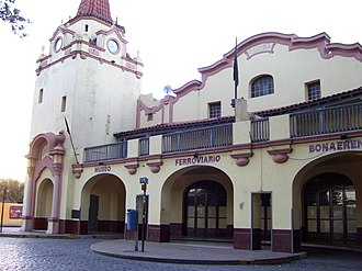 Province of Buenos Aires Railway - Avellaneda was terminus of the line,   then becoming a railway museum.