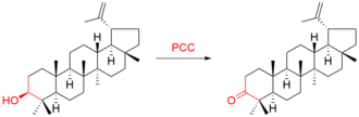 Pyridinium chlorochromate - Example of PCC oxidation of secondary alcohol