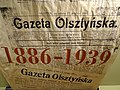 Exhibit on Gazeta Olsztynska (Newspaper) - House of the Olsztyn Gazette - Olsztyn - Warmia & Masuria - Poland (27740707650).jpg