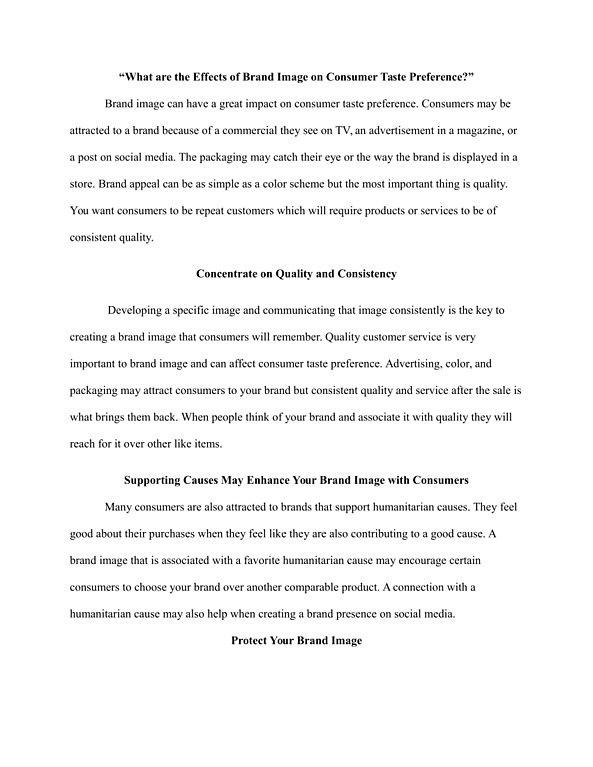 Expository Essays | Template