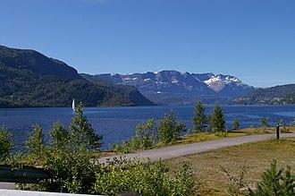Førde Fjord - View of the fjord